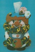 Delightful Clown Pottie Peeker Crochet Pattern~RARE - $9.99