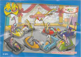 Kinder Surprise Minifigures MPG Series NV 093 & NV 094 (2008) - Bumper C... - $1.00
