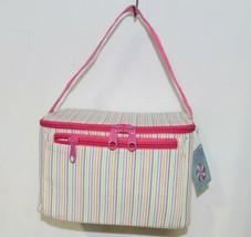 Oh Mint 1609999STRIPE Rainbow Stripe Seersucker Lunch Box image 1
