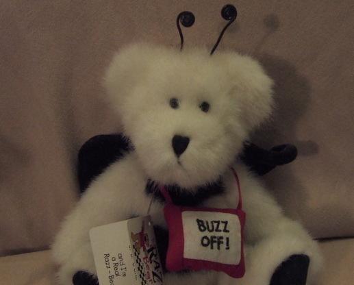 Boyd Razz-Beary~U B Gone Buzz off Bear Retired. with Tags