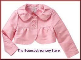 Nwt Gymboree Ice Cream Social Pink Silk Jacket Sz 10 - $25.99