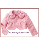 NWT Gymboree ICE CREAM SOCIAL Pink SILK Jacket  Sz 10 - $25.99