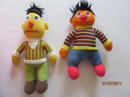 VTG Sesame Street Bert Ernie Plush Muppets Hasbro Softies Jim Henson PBS... - $11.01