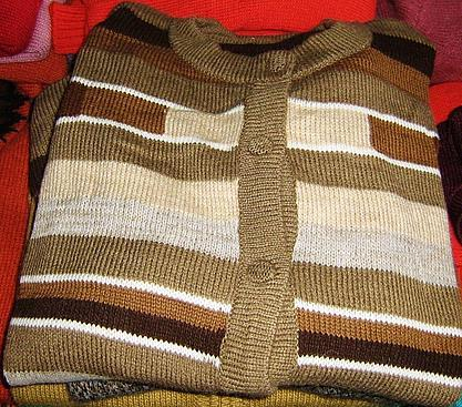 Cardigan made of pure Alpacawool, wool jacket