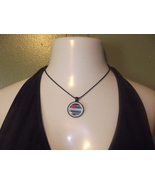 Leather Pride Pendant and Necklace - $14.75