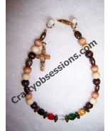 Salvation Faith Christian Witness Religious Bracelet-Earth Tones Christm... - $7.00