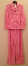 Charter Club Fleece Top and Pajama Pants Set 131028 Pink Hearts XXL - $24.30