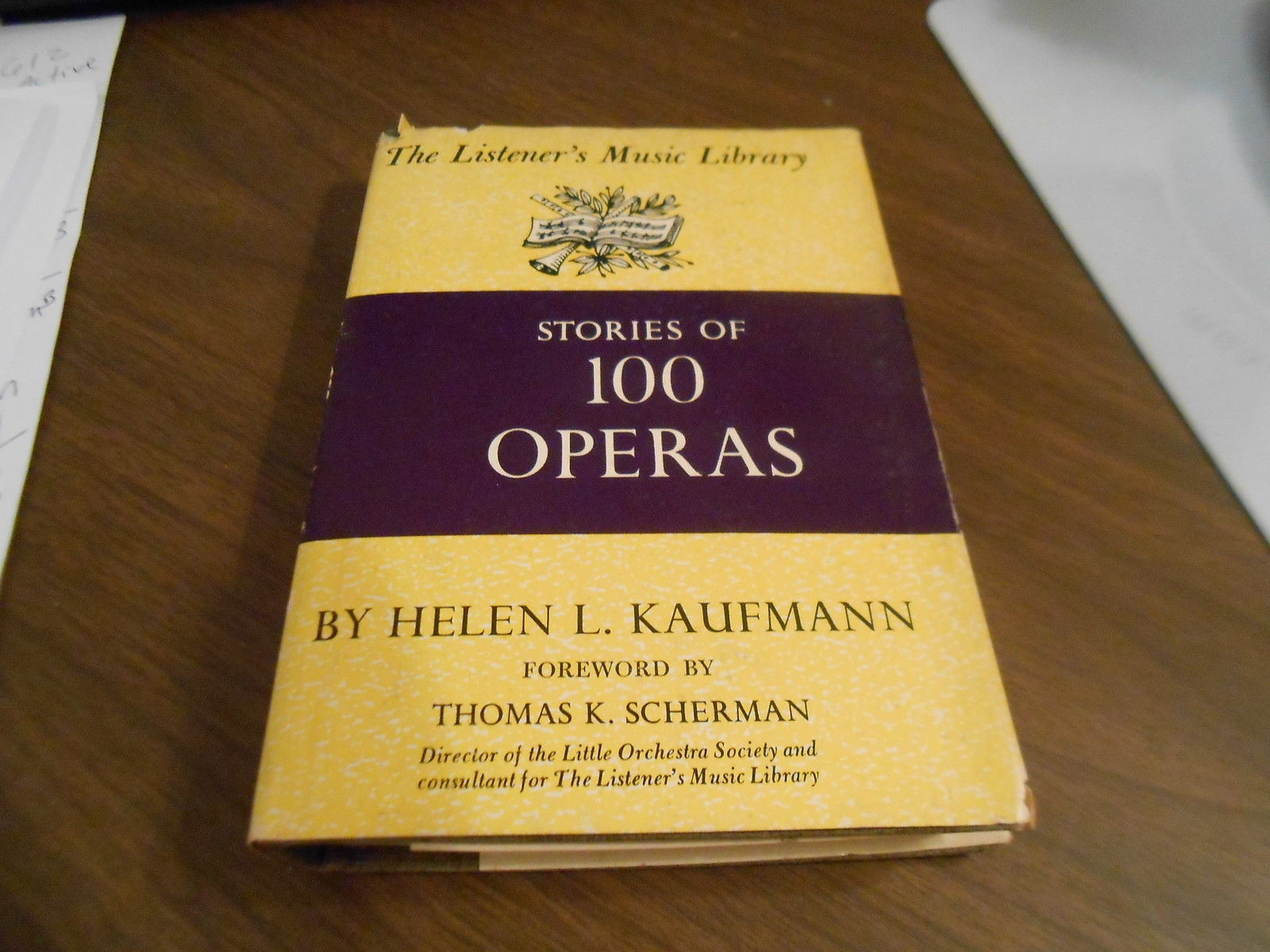 Primary image for stories of 100 operas helen kaufmann hardcover edition from 1960