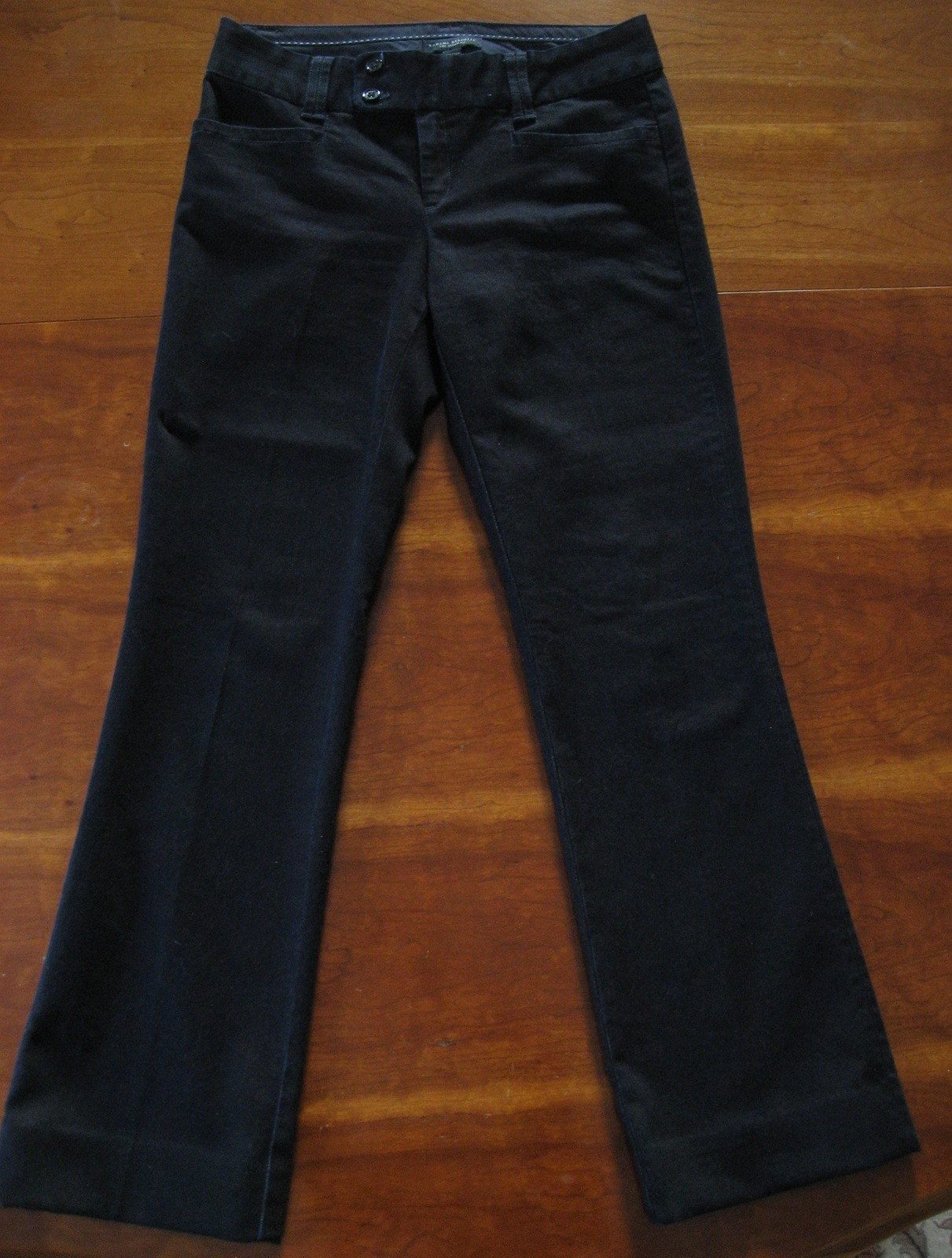 Primary image for Banana Republic Trouser Style Dark Wash Jeans, Sloan Fit Flare, Size 4