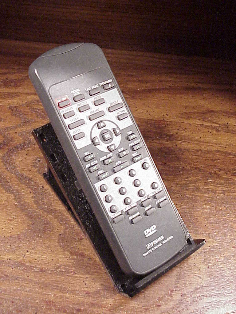 Primary image for Fisher DVD Remote Control, no. REM-S1000, used, cleaned and tested