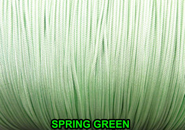 25 Feet: 1.8 mm Braided Nylon Cord./ 2 GREEN COLOR CHOICES (Great for Ro... - $3.95