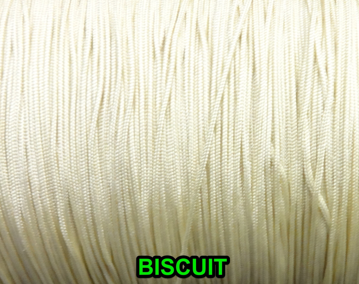 Primary image for 25 Feet: 1.4 mm Braided Nylon Cord./ 5 OFF- WHITE CHOICES (Great for Roman Shade