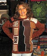 Designer sweater made of pure Alpacawool,round neck - $115.00