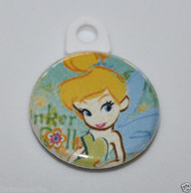 TINKER BELL CHARM for Jewelry Disney Art Cell Phone Cute Tinkerbell Dangle - $2.00