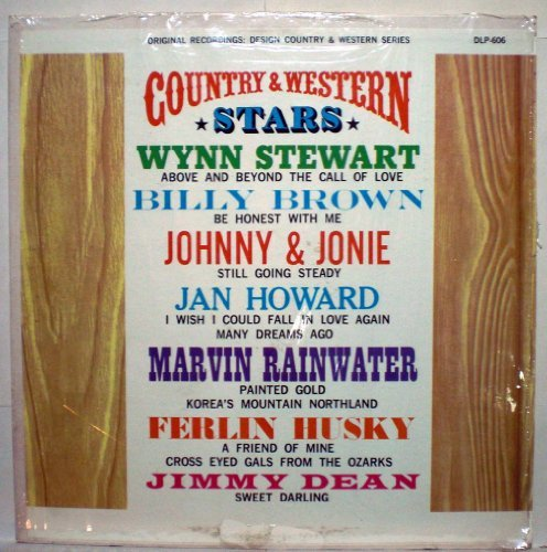 Primary image for Design Country & Western Stars - Vinyl LP Record [Vinyl] Marvin Rainwater; Fe...