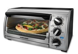 Black & Decker TRO480BS Toast-R-Oven 4-Slice Toaster Oven - $64.95