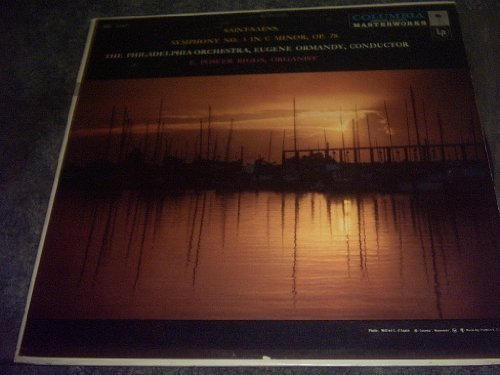 Primary image for Saint Saens Symphony No 3 C Minor Vinyl Lp Record [Vinyl] PHILADEPHIA ORCHESTRA