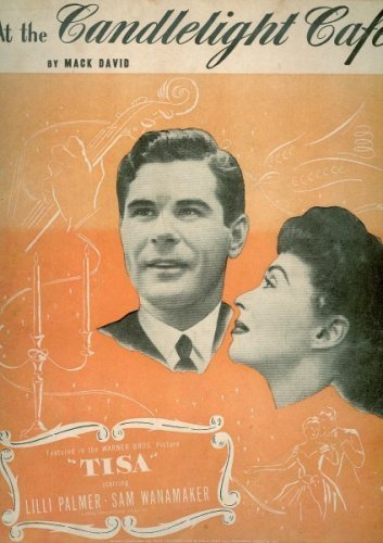Primary image for At the Candlelight Cafe (Cover Photo: LILLI Palmer and Sam Wanamaker) by