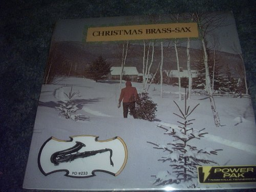 Primary image for Christmas Brass Sax Vinyl Lp Record [Vinyl] JERRY TUTTLE