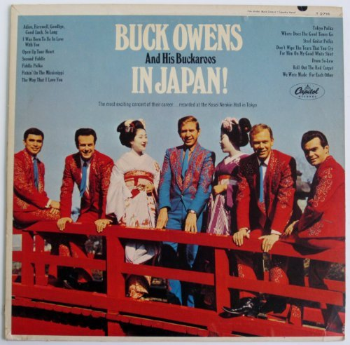 Primary image for Buck Owens: In Japan LP (54496) [Live] [Vinyl] Buck Owens