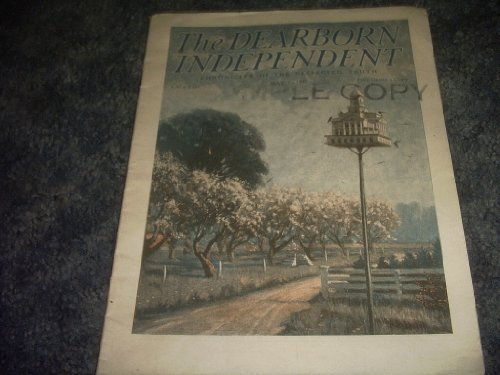 Primary image for THE Dearborn Independent Magazine MAY 7 1927 [Single Issue Magazine] by VARIOUS