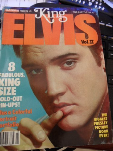 Primary image for Platinum Presents #3 KING ELVIS Vol. II PDC 56777-7 (8 Fabulous King Size FOl...