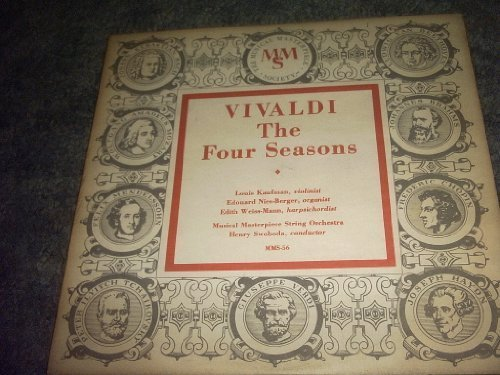 Primary image for Vivaldi the Four Seasons Vinyl Lp Record Album [Vinyl] MUSICAL MASTERPIECE ST...