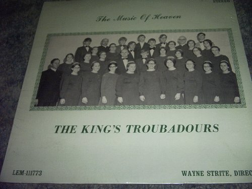 Primary image for THE Music of Heaven Vinyl Lp Record [Vinyl] THE KING'S TROUBADOURS