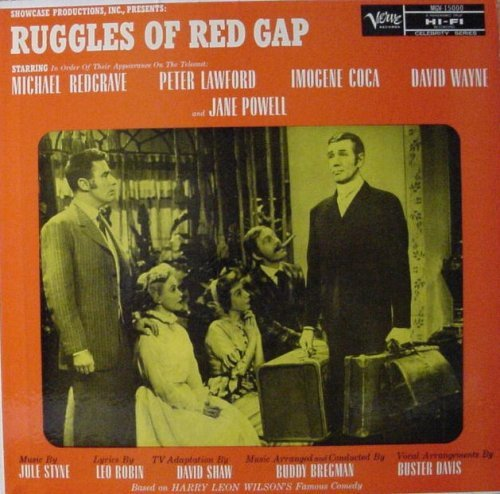Primary image for RUGGLES OF RED GAP - ORIGINAL TELECAST RECORDING [Vinyl] Buddy Bregman