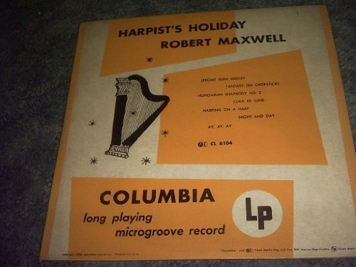 Primary image for Harpist's Holiday 10 Inch Lp Record [Vinyl] ROBERT MAXWELL
