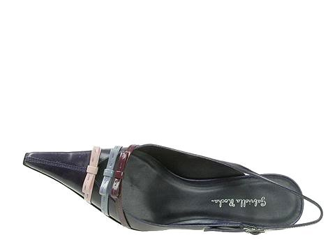 SZ 8 Gabriella Rocha Irma Womens Shoes Kitten Heels Pointy Toe Purple Leather