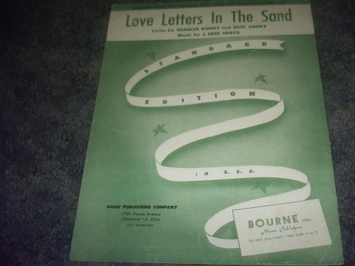 Primary image for Love Letters in the Sand Sheet Music (STANDARD EDITION) [Sheet music] by CHAR...
