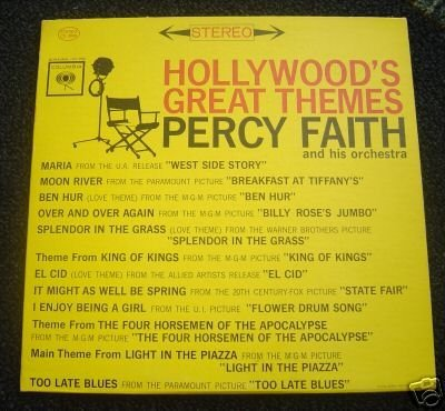 Primary image for Hollywood's Great Themes [Original recording] [Vinyl] Percy Faith and His Orc...