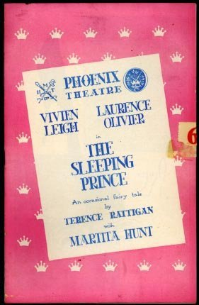 "Primary image for Phoenix Theatre Program (London) ""The Sleeping Prince"" November 1953 [Pamphle..."