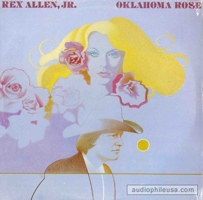 Primary image for REX ALLEN JR. - oklahoma rose WB 3403 (LP vinyl record) [Vinyl] REX ALLEN JR.