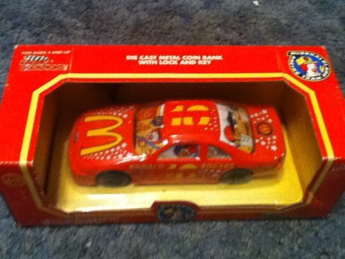 Primary image for 1994 Ronald Rocket 1:24 Scale Die Cast Bank with Key