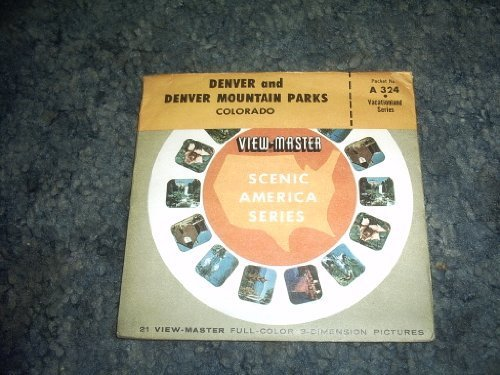 Primary image for Denver and Denver Mountain Parks Viewmaster Reels A324 [Slide] by SAWYERS