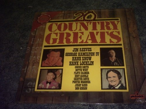 Primary image for 20 Country Greats Vinyl Lp Record [Vinyl] VARIOUS