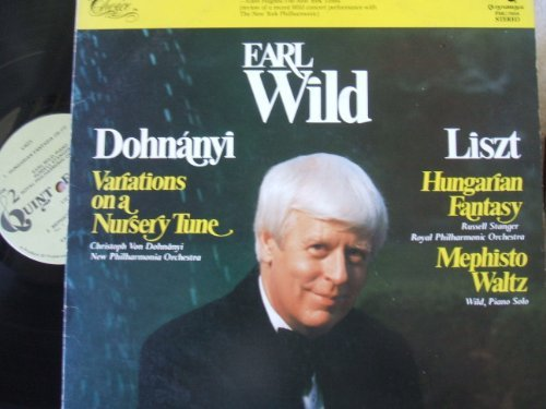 Primary image for Earl Wild plays Dohnanyi and Liszt [VINYL] [Vinyl] Dohnnyi; Liszt; Christoph ...