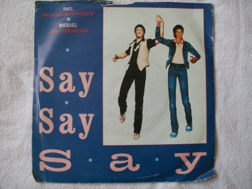 "Primary image for PAUL McCARTNEY & MICHAEL JACKSON Say Say Say 7"" 45 [Vinyl]"