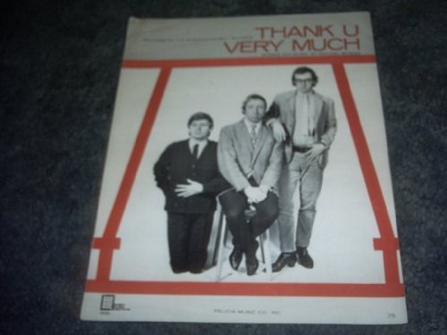 Primary image for Thank U Very Much Sheet Music [Sheet music] by THE SCAFFOLD