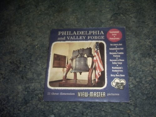 Primary image for Philadephia and Valley Forge Viewmaster 3 Reel Set 350.351,352 [Cards] by VIE...