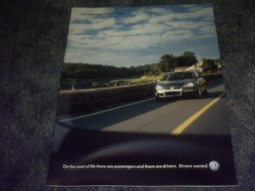 Primary image for 2006 Volkswagen Sales Brochure [Paperback] by VARIOUS