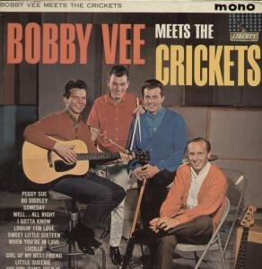 Primary image for BOBBY VEE MEETS THE CRICKETS LP (VINYL) UK LIBERTY [Vinyl]