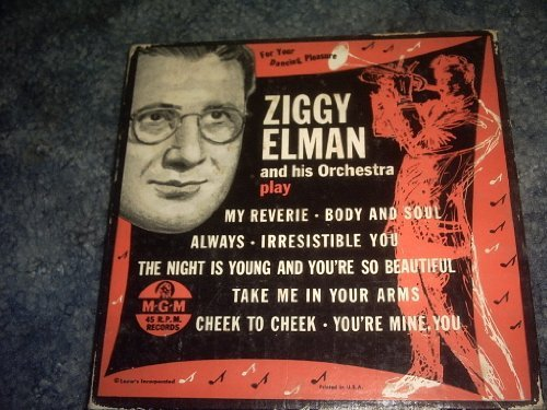 Primary image for Ziggy Elman 45 Rpm Box Set [Vinyl] ZIGGY ELMAN