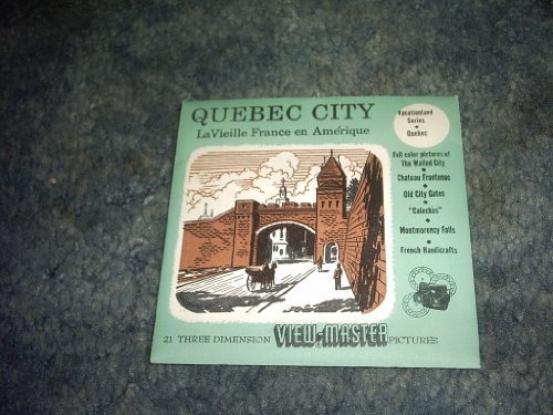 Primary image for Quebec City Viewmaster Reel 3 Reel SET 383,387,384 [Cards] by VIEWMASTER