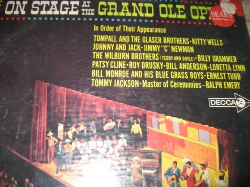 Primary image for On Stage at the Grand Ole Opry: Rare Live Country Compilation [Compilation] V...