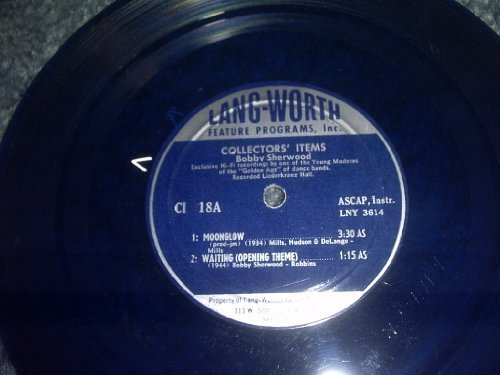 Primary image for Lang Worth 1940s Feature Program Record [Vinyl] BOBBY SHERWOOD