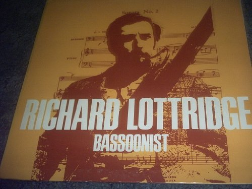 Primary image for Bassoonist Vinyl Lp Record Album [Vinyl] RICHARD LOTTRIDGE