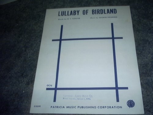 Primary image for Lullaby of Birdland Sheet Music [Sheet music] by B.Y.FORSTER